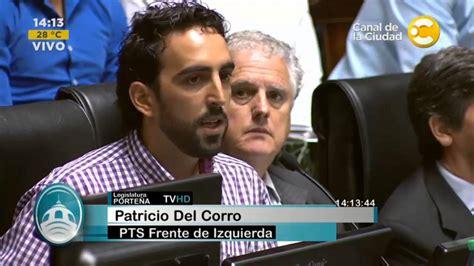 legislador patricio del corro suther patricio del corro traspaso de la pfa a caba youtube