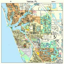 map venice florida area venice florida map 1273900