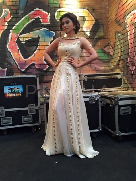 Roy Dresses For Goddesses by Mouni Roy In Rriso By Sonu Dharnidharka For India S Got
