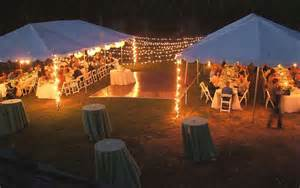 outdoor tent lighting ideas polo golf country club
