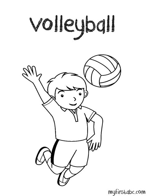 coloring pages volleyball girl volleyball coloring pages coloring home