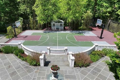 Backyard Patio Bar 10 Long Island Homes For Sale With Over The Top Basketball
