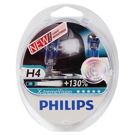 Lu Philips H4 60 55w philips 12342xv s2 h4 x tremevision 60 55w 12v p43t 38
