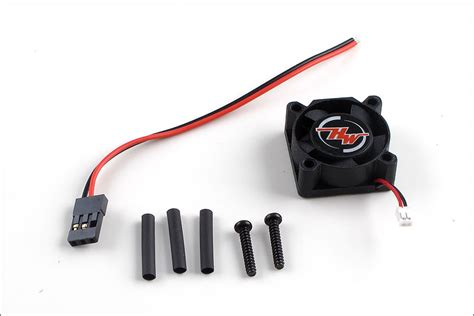 Hobbywing Esc Fan 12v By Rclung hobbywing cooler fan ezrun 86080050