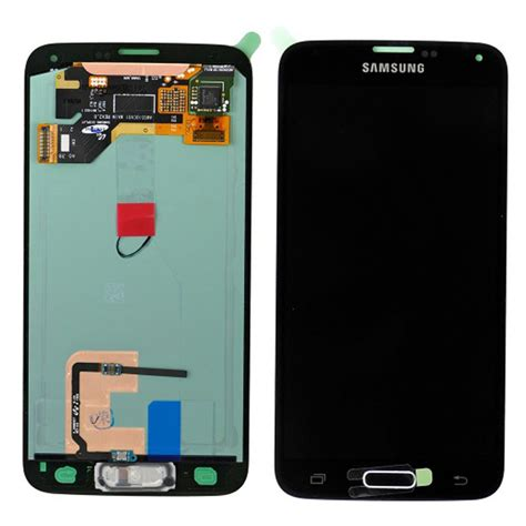 Lcd Samsung S5 black samsung galaxy s5 i9600 lcd screen replacement assembly