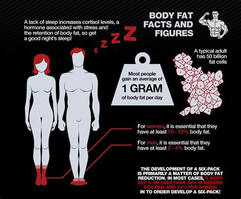 the science and myth of getting six pack abs infographics