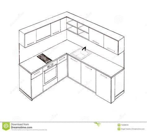 Cabinet D Architecture D Intérieur by Cuisine Un D Dessin Simple Point Ligne Perspective D Une