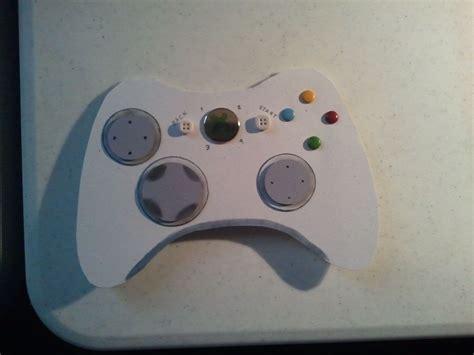 Xbox Controller Card Template by Xbox Controller Birthday Card Cameron Creations