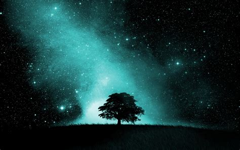 starry night sky hd wallpaper background image