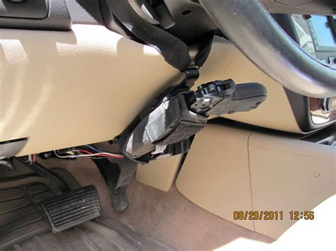 Car Upholstery Shooer by Vehicle Mounted Gun Holsters