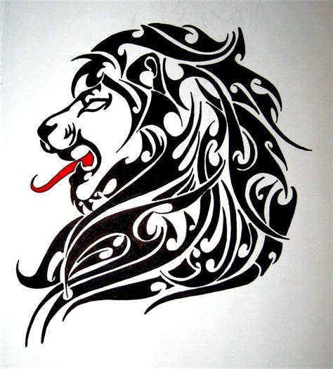 tribal tattoo lion leo tattoos designs ideas and meaning tattoos for you