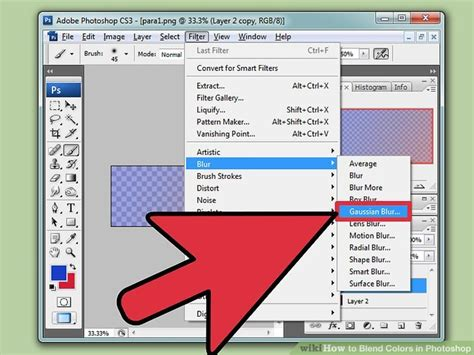 how to match colors in photoshop how to blend colors in photoshop with pictures wikihow