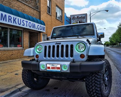 Jeep Halos Multi Color Halo Lights And Led Lighting 2012 Jeep