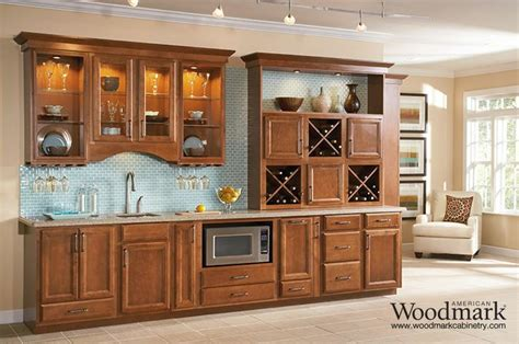 Ashland Cabinets by Ashland Maple Cognac Wetbar Other Spaces Hutches