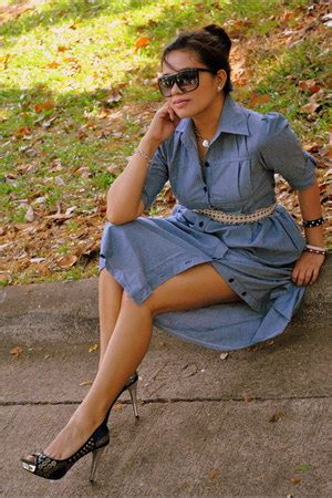 Denim Dress Bangkok by Beaded Nine West Shoes Denim Bangkok Dresses