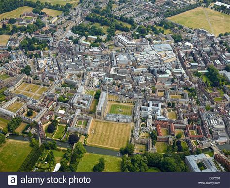 Cambridge Search Cambridge The Great City Of From The Air South Stock Photo