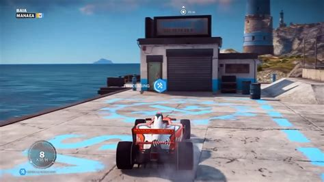 Garage Just Cause 3 Just Cause 3 Where To Find F1 Car Location