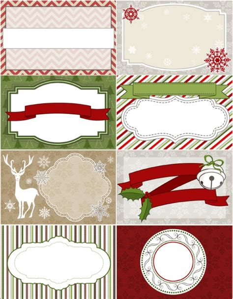 free christmas labels treetop glisten free labels digital scrapbooking papers worldlabel