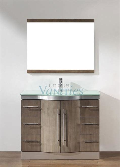 42 vanity with top and sink 42 inch single sink bathroom vanity with choice of top in