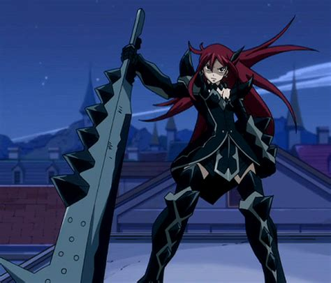 My Characters Anime Lists: Erza Scarlet Erza Scarlet Armor Types