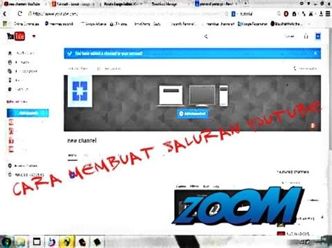 membuat saluran youtube tutorial6 cara membuat saluran channel youtube baru