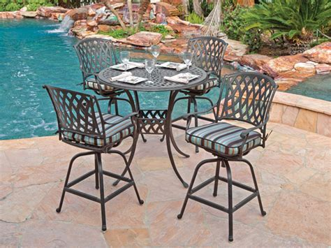 Outdoor Counter Height Swivel Bar Stools by Outdoor Patio Bar Stools Swivel Theradmommy