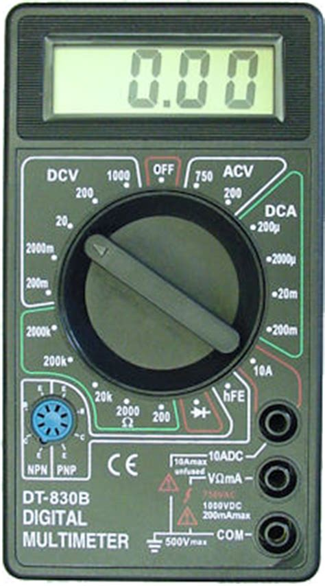Grosir Multitester Nankai Dt830b Dt 830b Dt 830 B 1 multimeter in gauteng value forest