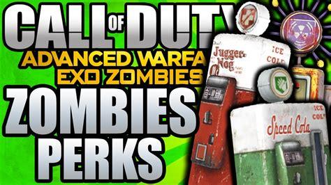 exo zombies perks advanced warfare zombies perks perk machines