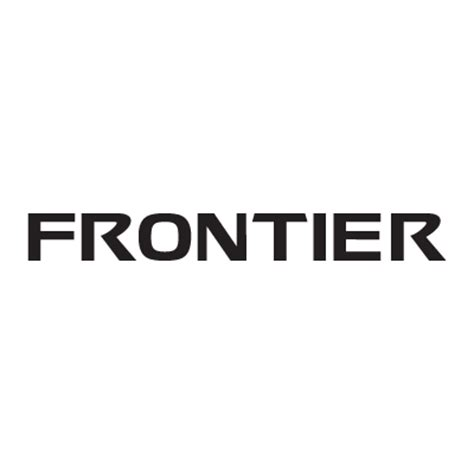Frontier Logo Vector In Eps Ai Cdr Free Download