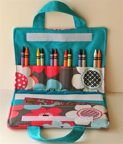 perfect gifts for her crayons meet couture coloring book crayon bag inspiration made simple