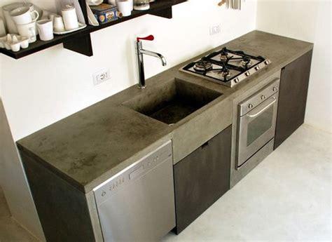 disenos cocinas revestidas cemento pulido