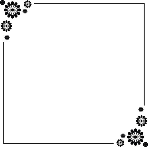 Simple Border Designs For A4 Paper Clipart Best Flowers A4 Page Borders