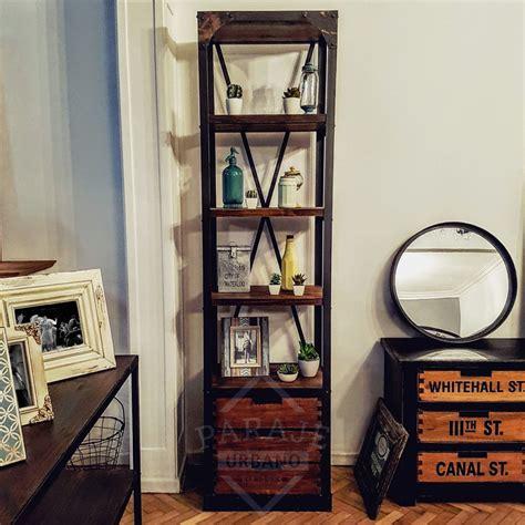 estantes de hierro estanteria de hierro estantera en metal y madera farrow
