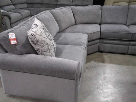 sectional sofa lazy boy transitional style grey reclining sectional sofa dot bo