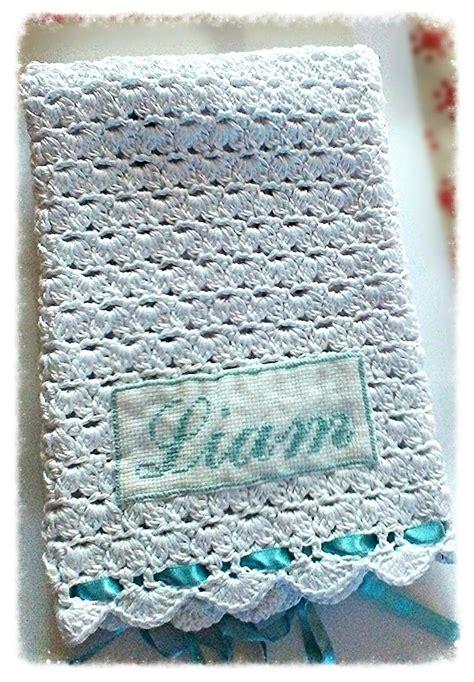 copertine neonato copertina neonato lavorata ad uncinetto in cotone filo di