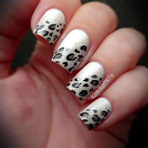 leopard designs leopard design nail 50 nail designs for beginners