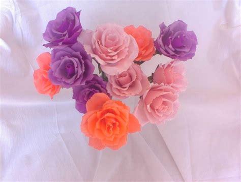 fiori di ci fiori di carta crespa foto pourfemme