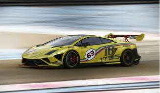 Lamborghini And Race Lamborghini Reveals 2013 Trofeo Race Car Hints At U