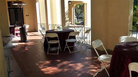 table and chair rentals gainesville fl the historic center gainesville fl wedding venue