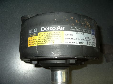 oldsobsolete 1976 1981 gm radial air conditioning compressor nos 2724141