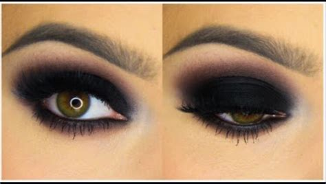10 Black Smokey Eye Tips by Classic Black Smokey Eye Makeup Tutorial Trusper