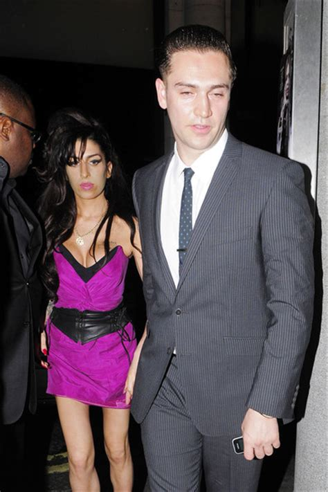 Winehouse Engaged by Winehouse At The Premiere Of Psychosis Zimbio