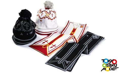 Tom Exclusive Sword Scarf Beanie Asuna official sword scarves and beanies promise to keep you warm sgcafe