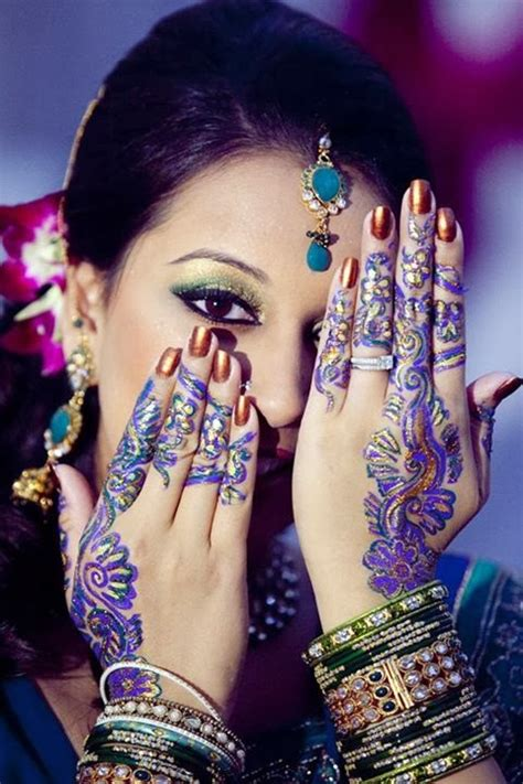 mehndi designs  girls mayoon frills