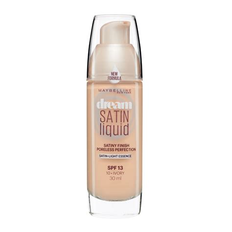 Maybelline Foundation maybelline new york satin liquid foundation 30ml