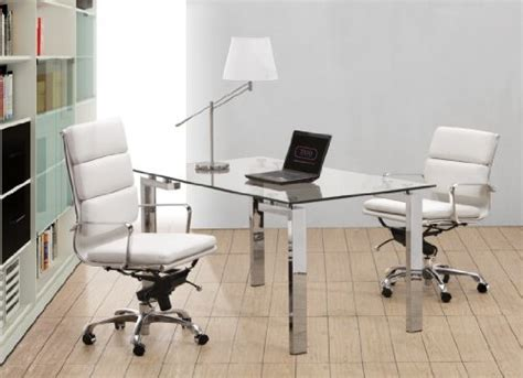 Rolling Desk Chair Design Ideas Executive Soft Pad Chair High Back White