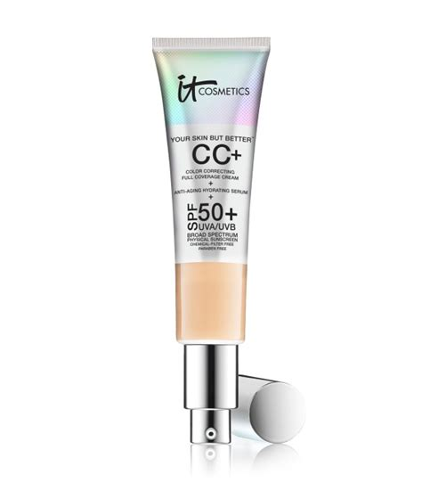 it cosmetics cc cream light review it cosmetics cc cream review swatches dupes fs