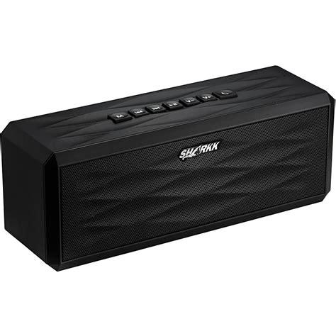 Speaker Bluetooth Voombox sharkk boombox bluetooth wireless speaker sk869bt b h photo