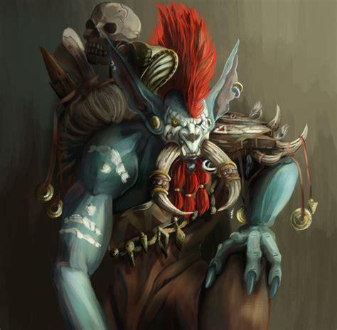 world of warcraft voljin vol jin by lucelis on