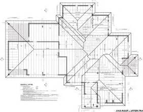 floor plan with roof plan roof plans roof plan 6 12 pitch and 1 8 quot scale u201c